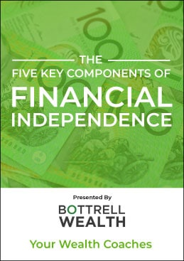 The Five Key Components of Financial Independence eBook book cover
