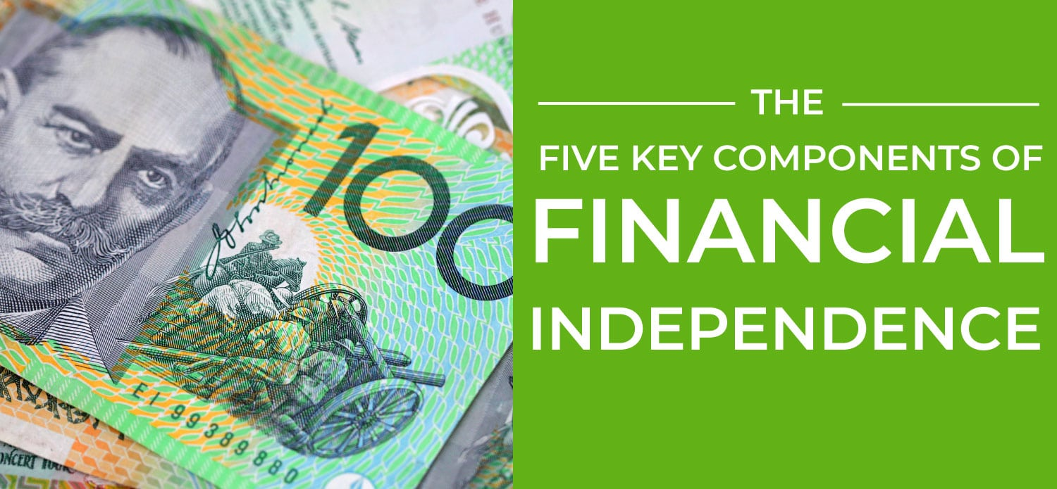 The Five Key Components of Financial Independence page banner